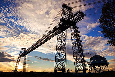 Transporter Bridge, Newport, Gwent, Wales, United Kingdom, Europe