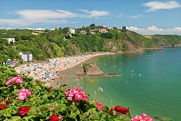 Tenby, North Beach, Pembrokeshire, Wales, United Kingdom, Europe