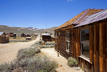 Dr. Street's house, Green Street, California gold mining ghost town of Bodie, Bodie State Historic Park, Bridgeport, California, United States of America, North America