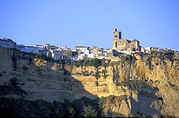 Spain, Andaloucia, Arcos-De-La-Frontera, The Ramparts