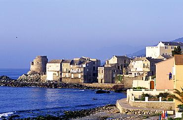 France, Corsica Island, Haute-Corse, Cap Corse, Village Of Erbalunga