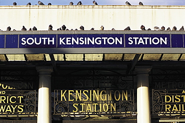 UK, London, Subway Entrance South Kensington