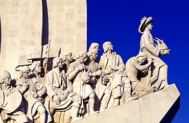 Portugal, Lisbon, Monument Of The Discoveries Dedicated To Portuguese Seamen, Detail