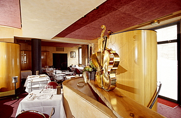 Restaurant L'Arpege, Rue de Varenne, owner and chef Alain Passard, one of France's most acclaimed chefs (three stars in Guide Rouge Michelin), Paris, France, Europe
