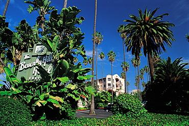 Los Angeles, California, Usa Beverly Hills Hotel & Gardens
