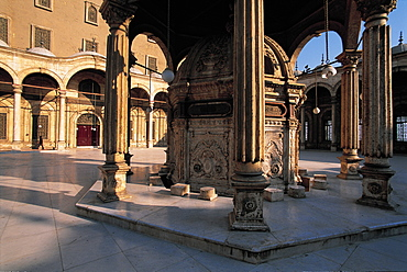 Cairo, Citadel, Mosque Courtyard, Egypt, Africa