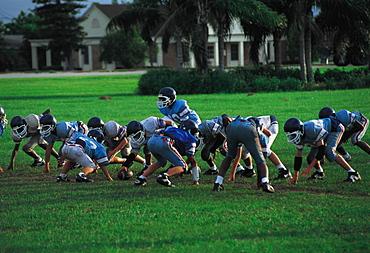 Foot-Ball, Ochechobee, Florida, Usa