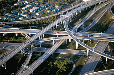 Highway intersections, Miami, Florida, United States of America, North America