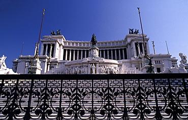 Italy, Rome, Vittoriano (Built 1885-1911)