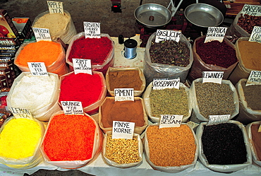 Turkey, Istanbul, The Egyptian Spices Market