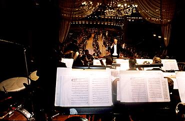 Austria, Vienna, Opera Ball, The Opera Orchestra