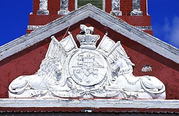 Caribbean, West Indies, Barbados, Bridgetown, Savannah Garrison Ancient British Barracks,