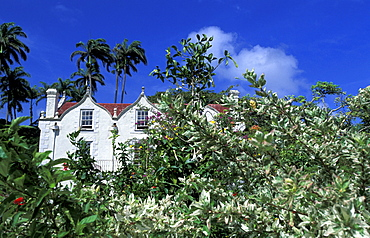 Caribbean, West Indies, Barbados, St Peter Parish, Nicholas Abbey Plantation House, Can Be Visited