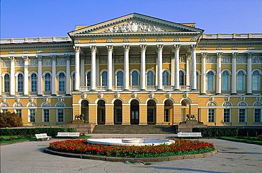 Russia, St-Petersburg, Michaelovsky Palace Built 1819-1925 By Architect Carlo Rossi, Now The Russian Museum