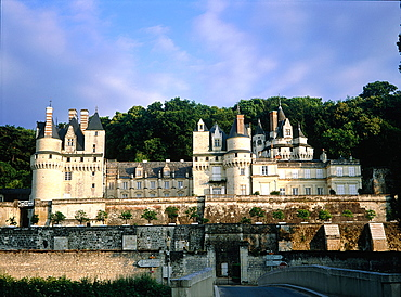 France, To Uraine Val-De-Loire, In Dre-Et-Loire, Usse, The Castle On River In Dre (Supposed To Have Been Copied By Walt Disney )