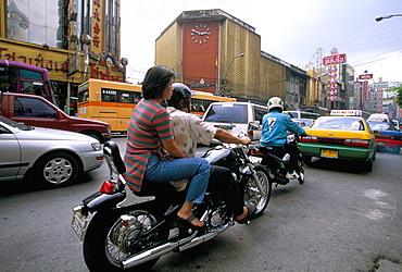 Traffic, Bangkok, Thailand, Southeast Asia, Asia