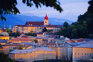 View over city, Salzburg, Austria