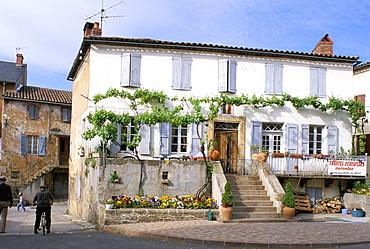 Village house, Ste. Affrique, Roquefort region, Aveyron, France, Europe