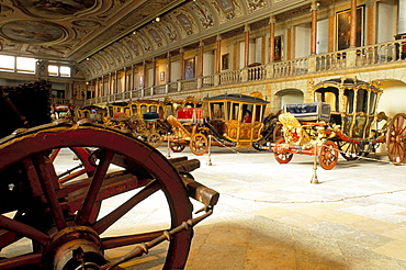 Stagecoach museum, Lisbon, Portugal, Europe
