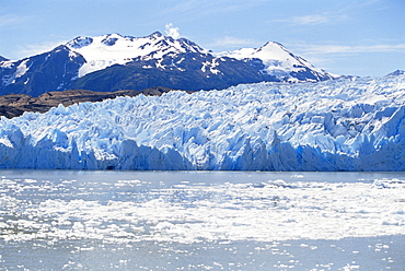Lake Gray Glacier, Torres del Paine National Park, Patagonia, Chile, South America