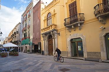 Corso Vittorio Emanuele, Trapani, Sicily, Italy, Europe