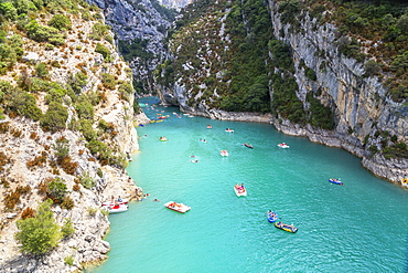 Lake St. Croix, Gorges du Verdon, Provence-Alpes-Cote d'Azur, Provence, France, Europe