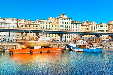 Porto Antico (Old Port), Genoa, Liguria, Italy, Europe