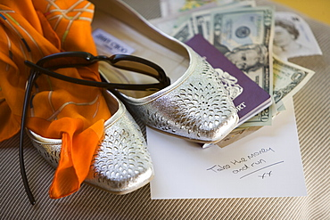 Silver Shoes and Passport