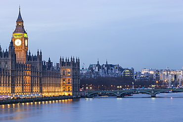 Houses of Parliament, UNESCO World Heritage Site, Westminster, London, England, United Kingdom, Europe