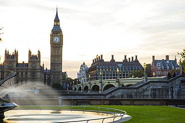 Houses of Parliament, UNESCO World Heritage Site, London, England, United Kingdom, Europe