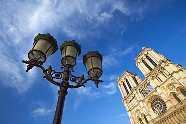 Notre Dame Cathedral, Paris, France, Europe - 728-6410