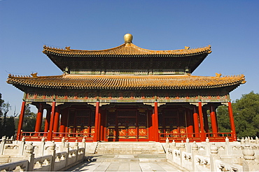 Confucius Temple Imperial College built in 1306 by the grandson of Kublai Khan and administered the official Confucian examination system, Beijing, China, Asia