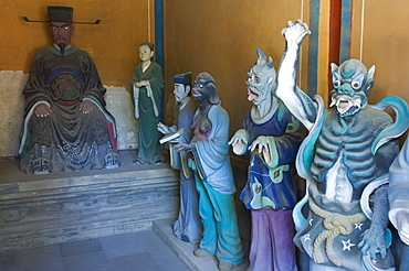 Government Ministry Department for controlling evil spirits at Taoist Donyue temple, Chaoyang district, Beijing, China, Asia