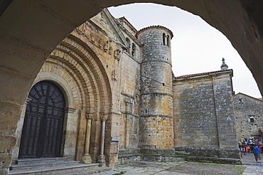 Santillana church, Santillana del Mar, Cantabria, Spain, Europe