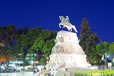Statue of General Jose de San Martin, Plaza San Martin, Cordoba, Argentina, South America