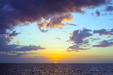 Sugar Beach sunset, Bantayan Island, Cebu, The Visayas, Philippines, Southeast Asia, Asia