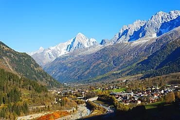 Les Houches, Chamonix Valley, Rhone Alps, Haute Savoie, France, Europe