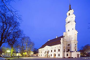 Town Hall of Kaunas, Kaunas, Lithuania, Europe