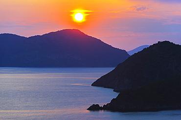 Belcekiz beach, Oludeniz near Fethiye, Aegean Turquoise Coast, Anatolia, Turkey, Asia Minor, Eurasia