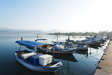 Fethiye, boats in harbour, Fethiye, Turquoise Coast, Anatolia, Turkey, Asia Minor, Eurasia