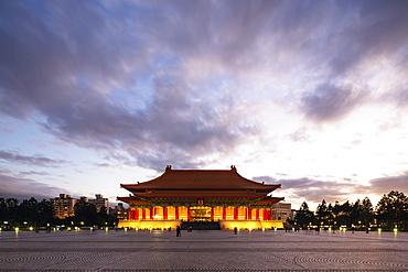 Performing Arts Theater, Chiang Kaishek Memorial Grounds, Taipei, Taiwan, Asia