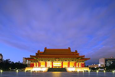 Chiang Kaishek Memorial Grounds, Taipei, Taiwan, Asia