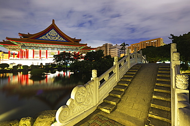 National Concert Hall, Chiang Kaishek Memorial Grounds, Taipei, Taiwan, Asia