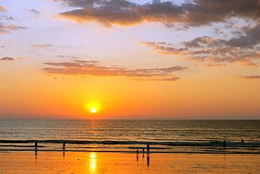 Memories Beach, sunset, Khao Lak, Phang Nga Province, Thailand, Southeast Asia, Asia