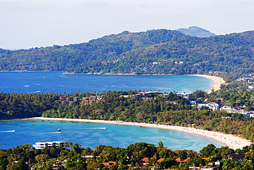South East Asia, Thailand, Phuket, Kata beach view point