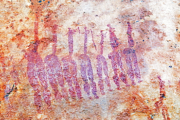 San rock art on the Sevilla Rock Art Trail, Cederberg Wilderness Area, Western Cape, South Africa, Africa