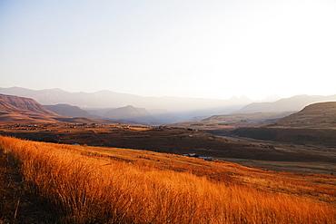 Cathedral Peak Nature Reserve, Drakensburg, Kwazulu-Natal, South Africa, Africa