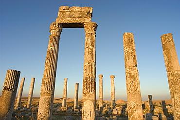 Archaelogical site, Apamea (Qalat at al-Mudiq), Syria, Middle East