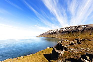 Kapp Lee, Spitsbergen, Svalbard, Arctic, Norway, Europe