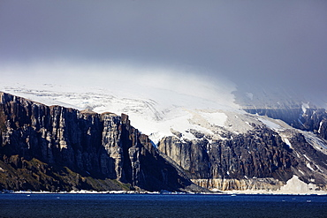 Arctic landscape, Spitsbergen, Svalbard, Arctic, Norway, Europe